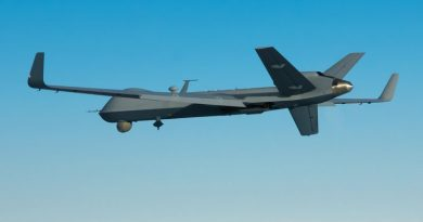 US Military drone crash over Libya