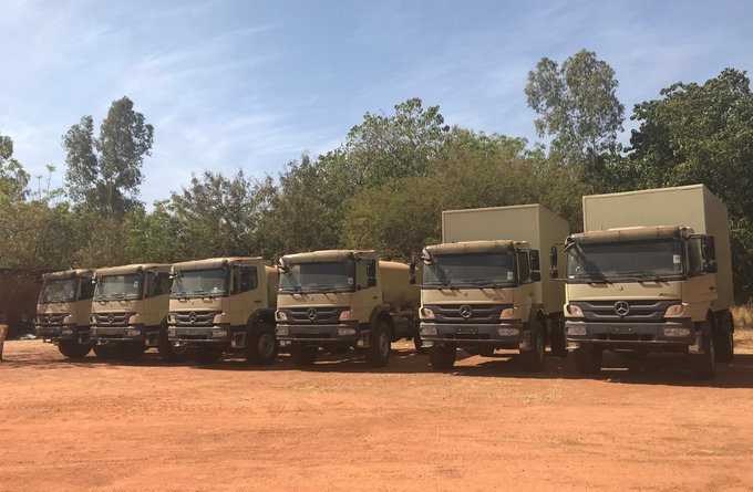 U.S. donates transport and communications equipment to Burkina Faso