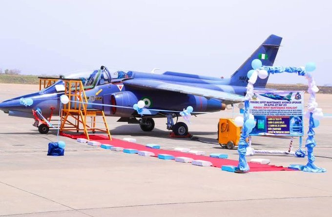 Nigerian Air Force reactivates Alpha Jet, upgrades avionics