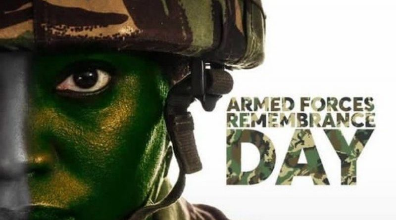 armed forces remembrance day