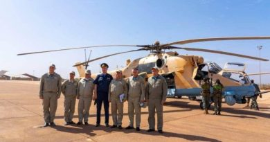 Malian air force mi-35M hind E