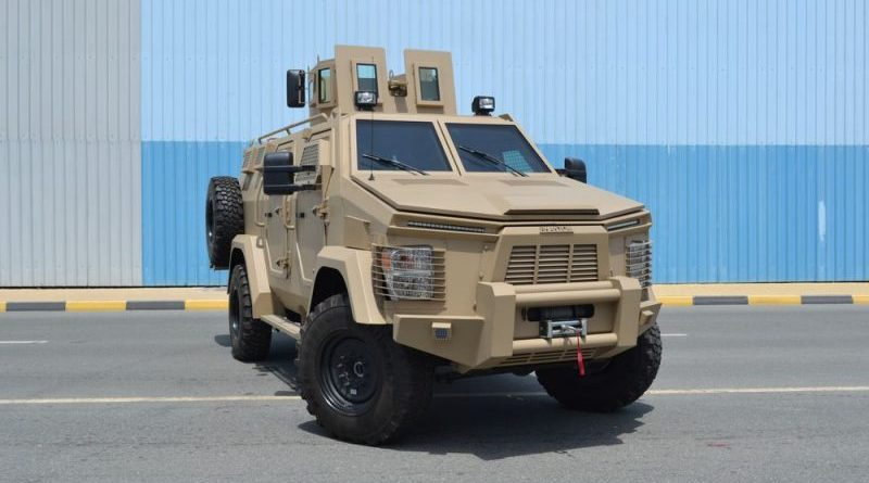 nigeria operating isotrex phantom 2 armoured vehicle
