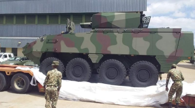 botswana army mowag piranha armoured vehicles