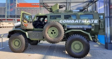 Bruisertech, WP Group offers Combatmate armoured vehicle