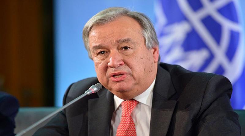 UN Secretary General Guterres