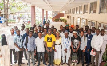 Young planners, urbanists architects of the Members of tCommonwealth Association of Planners (CAP, RTPI) and Commonwealth Association of Architects (CAA, RIBA) in Nigeria