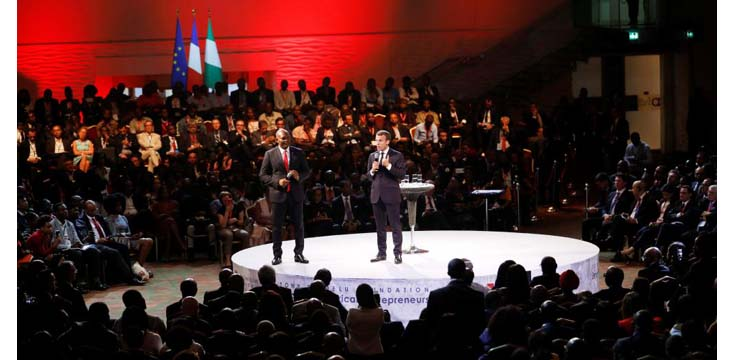 Young people, entrepreneurship will drive Africa's renaissance, says Macron