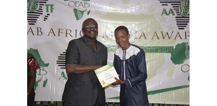 OFAB Africa media awards 2018 held in Ouagadougou