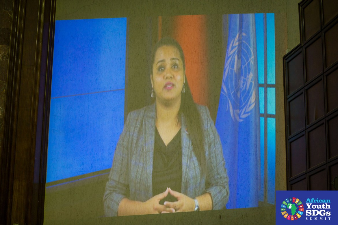 In a video message to the Summit, UN Secretary General's Youth Envoy Ms Jayathma Wickramanayake