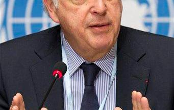 Michel Kazatchkine, Executive Director of the Global Fund to Fight AIDS, Tuberculosis and Malaria, answers reporters questions about the misuse of funds in several countries, during a news conference, at the European headquarters of the United Nations in Geneva, Switzerland, Monday, Jan. 24, 2011. A $21.7 billion development fund backed by celebrities and hailed as an alternative to the bureaucracy of the United Nations sees as much as two-thirds of some grants eaten up by corruption, The Associated Press has learned. (AP Photo/Keystone/Salvatore Di Nolfi)