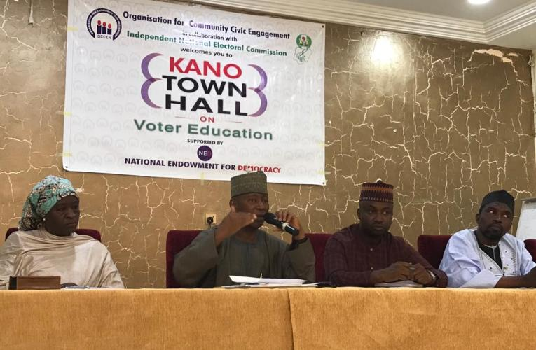 2019 elections: OCCEN sensitized Kano youths on voting processes