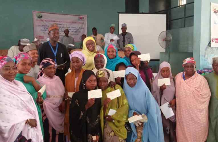 Over 1000 adolescent girls get bursaries, seed grants from ENGINE II in Kano