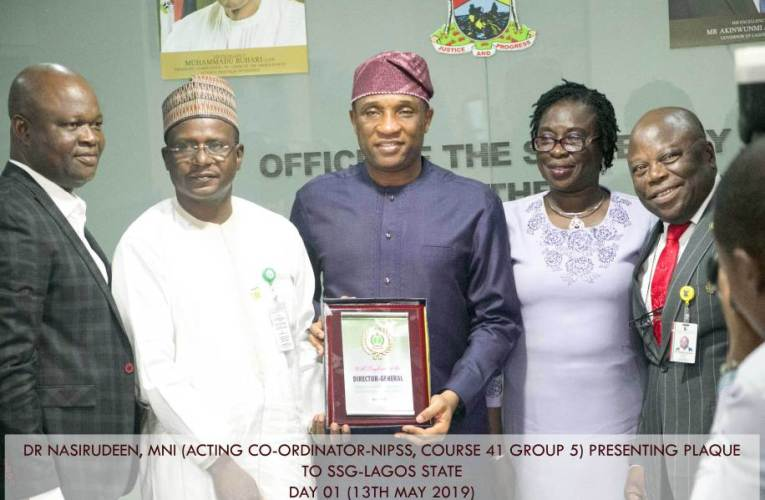 NIPSS-PAS Study Tour: Attaining Universal Health Coverage in Nigeria, the Lagos Example