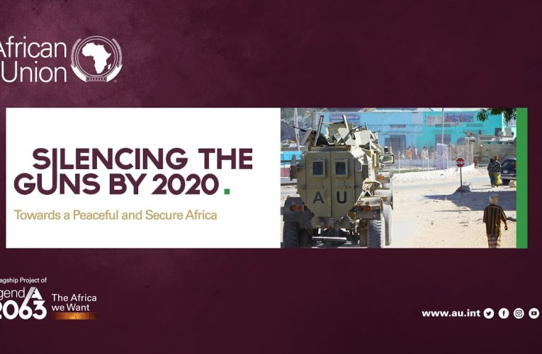 2020 crucial in expediting multilateral efforts to silence the guns across Africa, By Betty Dindi
