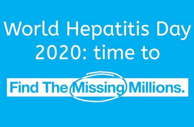 Hepatitis Day 2020: Working towards a hepatitis free world