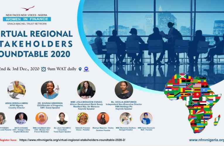 NFNV Nigeria's 2020 regional stakeholders' roundtable holds virtually, December 2 – 3