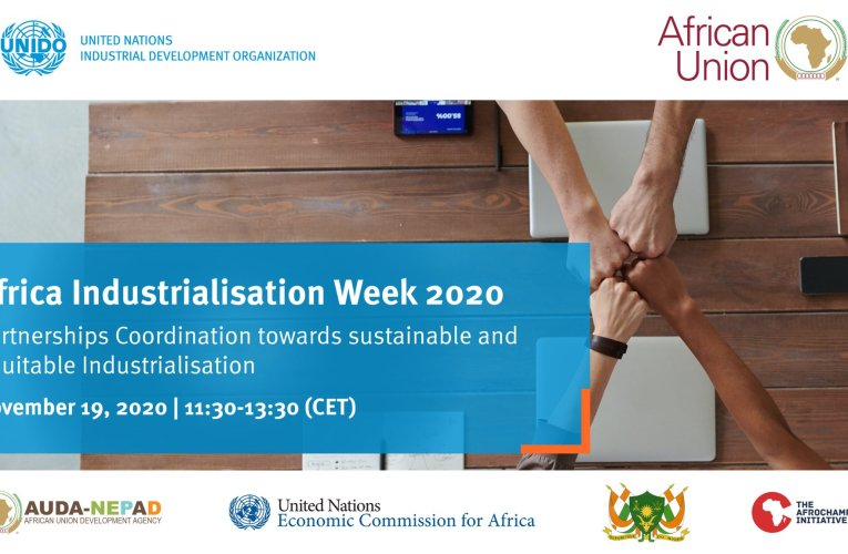 AIW 2020: UNIDO convening push for climate-friendly industrialization in Africa