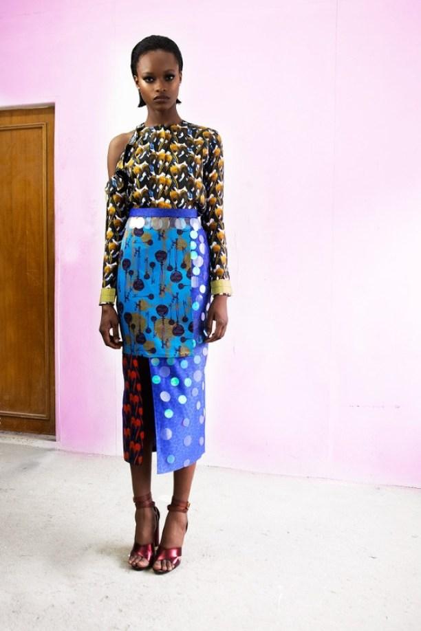 Looking stylish with Lisa Folawiyo