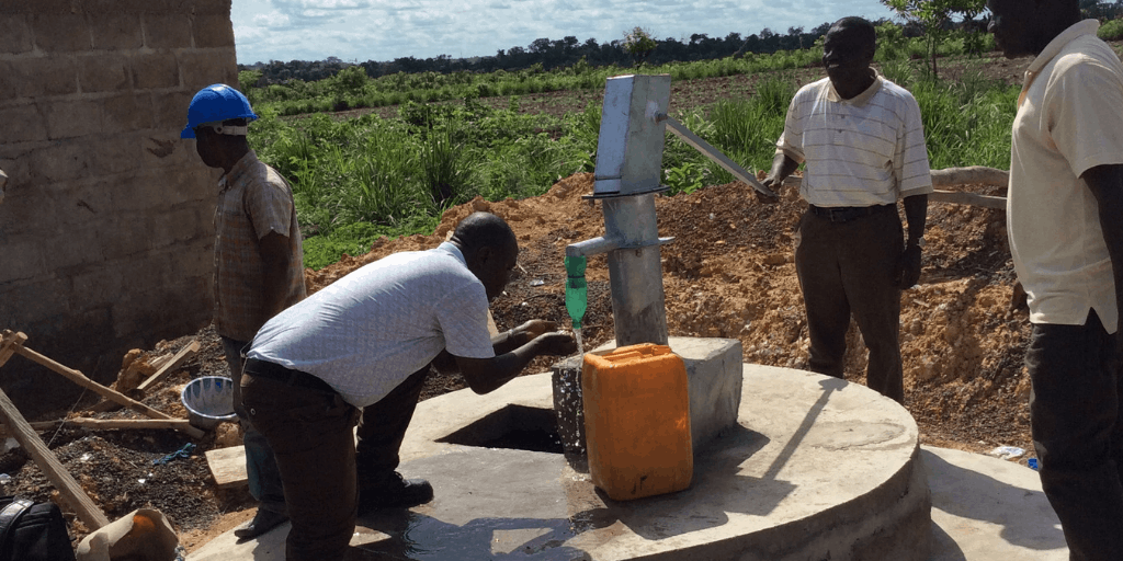 Bread and Water for Africa supports water wells in Sierra Leone