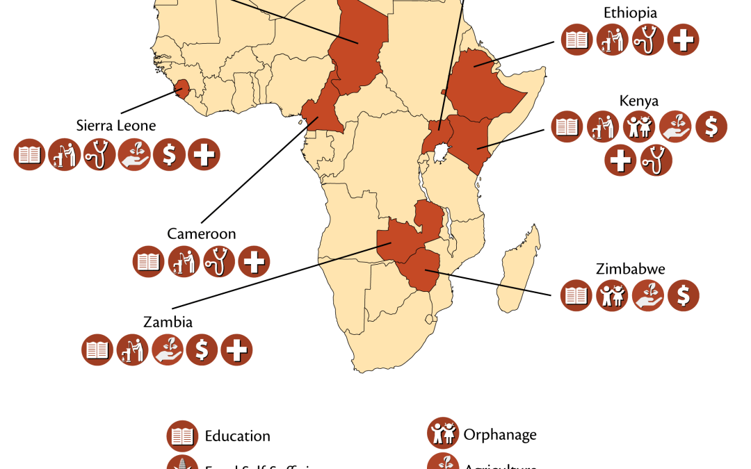 Providing assistance in Africa