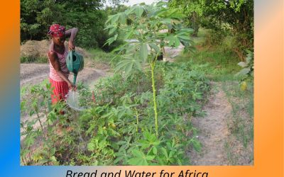 Bread and Water for Africa® Joins With World in Celebrating Earth Day 2021