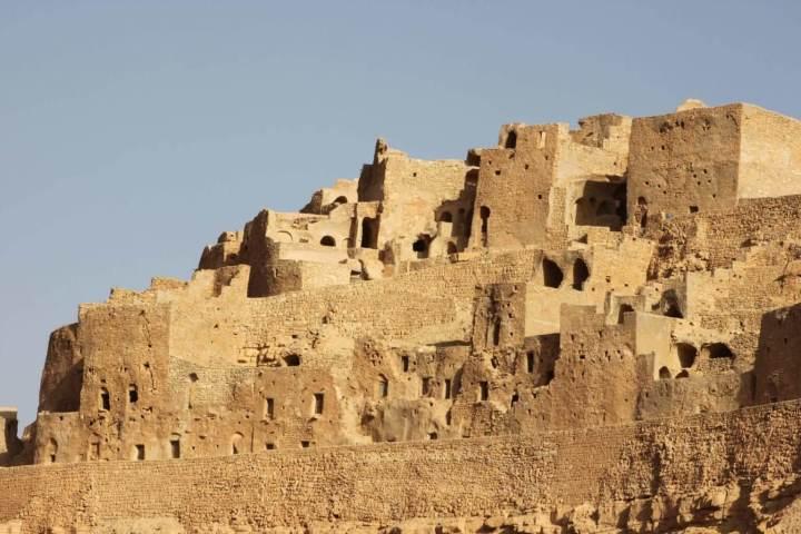 The Troglodyte Berber Houses of Matmata - Tunisia