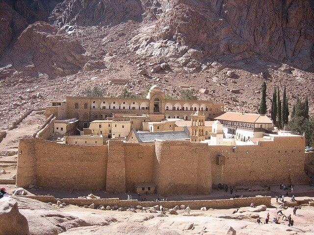 Sinai desert :St Catherine's monastery