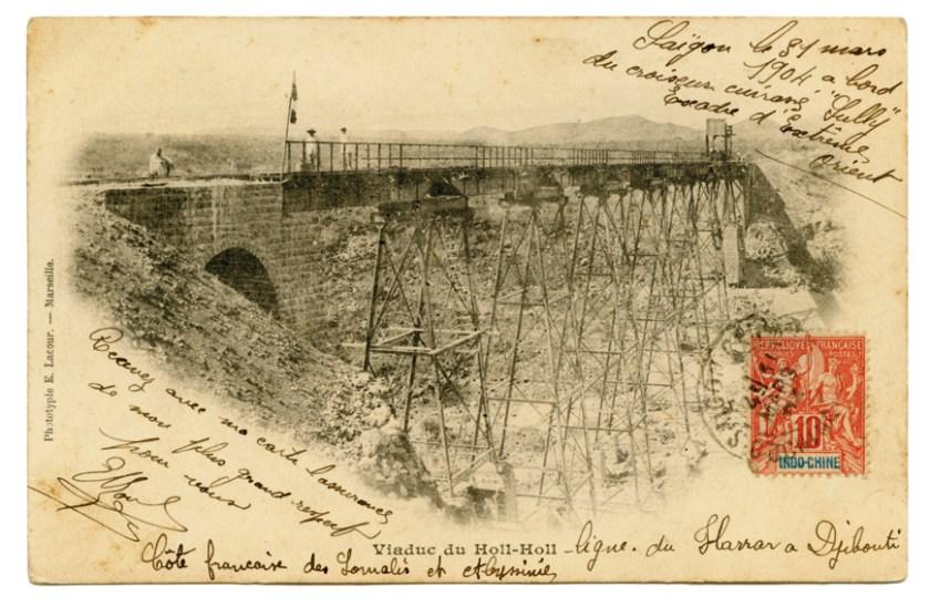 Viaduc de Holl-Holl - Coll. Jacques TRAMPONT