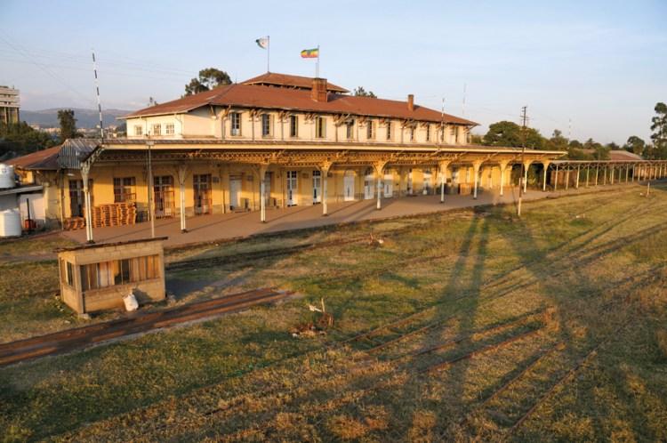 Addis Ababa train station, 2012.