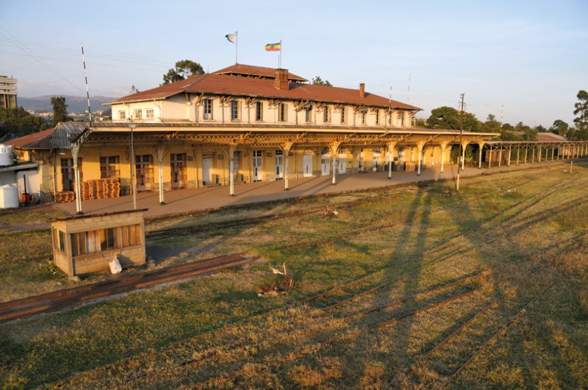 Addis Ababa train station, 2012.