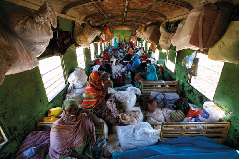 African Train