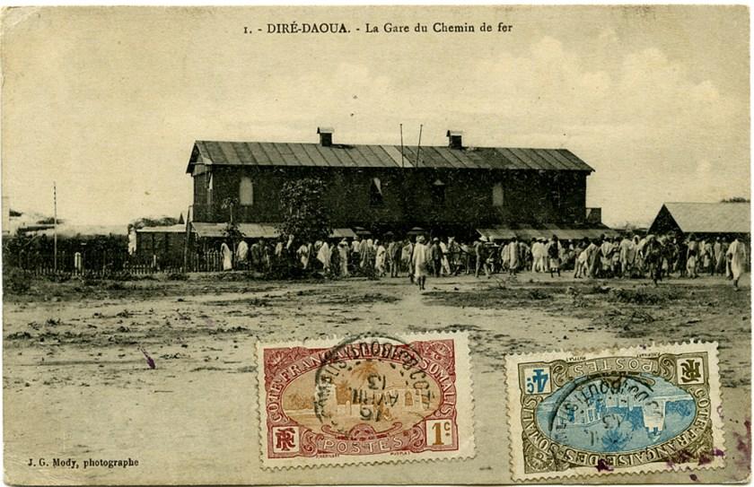 La gare du Chemin de fer