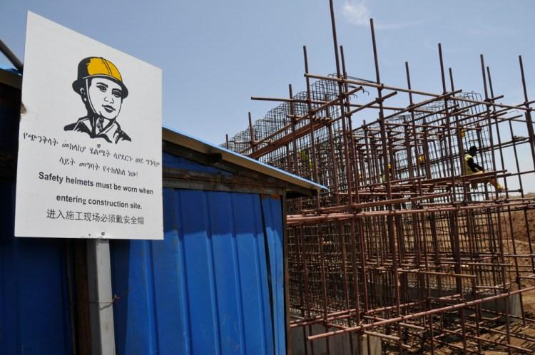 chantier chine