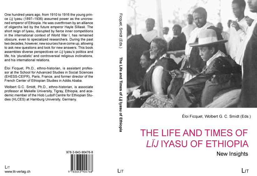 The Life and Times of Lij Iyasu - cover project