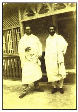 Lidj Yassou et Tafari M