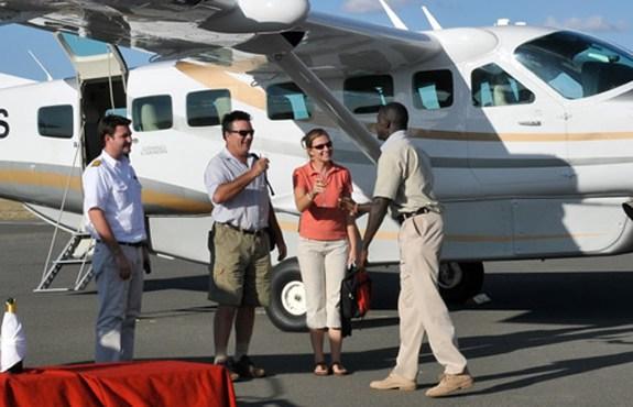 Masai Mara safari by air