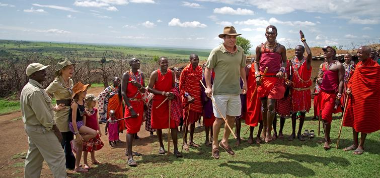 masai mara village visit