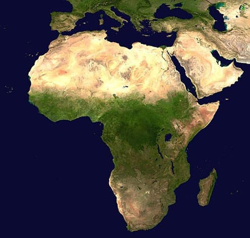list of countries in africa alphabetical order