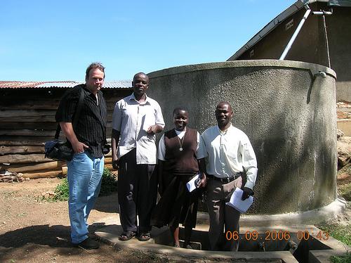 Rob Trigalet in Uganda