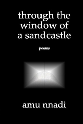 through the window of a sandcastle