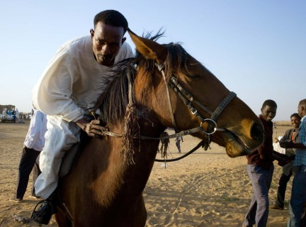 Some African cultures, such as the Darfuris in Sudan and the Hausa/ Fulani or the West African sahel, had a famed horse riding tradition - and geographical expansion to boot. (Photo/ Flickr/ UNAMID)