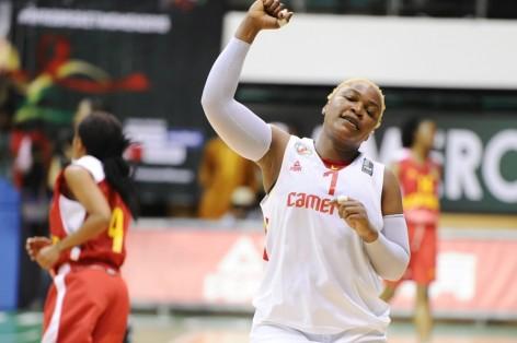 Amina Njonkou Capitaine Des Vice Championnes DAfrique De