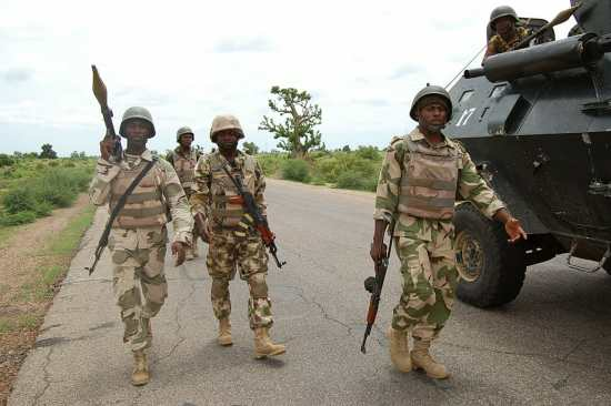 Nigerian Military on National Defence Assignment