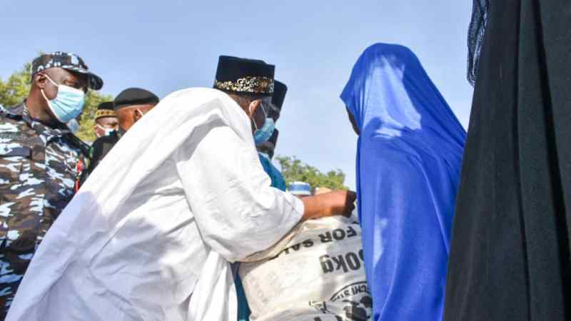 COVID-19: Bauchi Gov Commends Palliatives Committee For Fair Distribution Of Commodities
