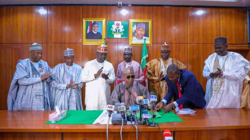 Zulum signs 2021 budget of N248 Bn…Directs strict compliance by MDAs