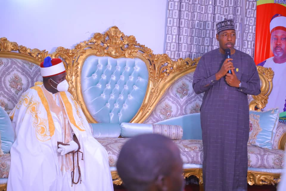 Thuggery: Zulum Extends Ban to Gwoza, Cautions Politicians Engaging Youth