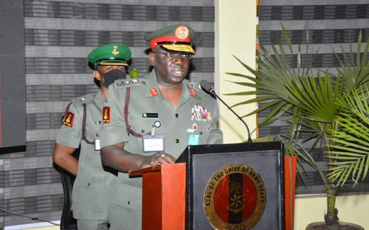My Vision Will Rebuild Nigerian Army To A Formidable Force – COAS