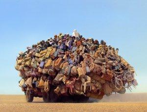 Camion di migranti
