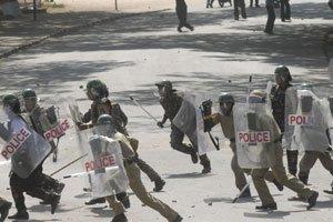 poliziotti etiopi