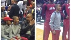 LeBron James meet Ebony Nettles-Bey